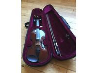 Violin 1/2 size with carry case