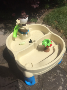 Step2 - Sail Away Adventure Sand & Water Table With Umbrella