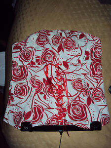 Red and White floral top Kitchener / Waterloo Kitchener Area image 1