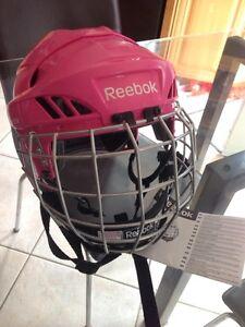 Reebok pink 3K helmet - size small