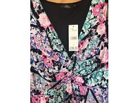 Size 12 floral dress from Bon Marche
