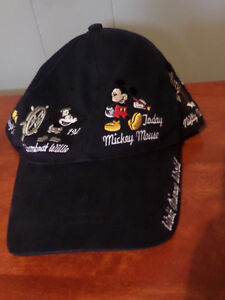 History of Mickey Mouse baseball style hat
