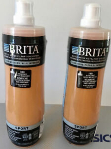 2 New BRITA SPORT BOTTLES with 2 New FILTERS - All for $15