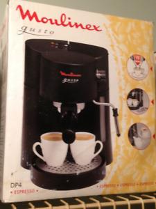 New in box - Moulinex Espresso/Cappuccino machine