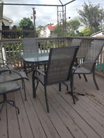 patio set 6 chairs