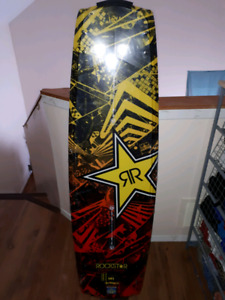 NEW Rock star wake board