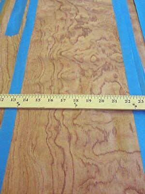 Kewazinga Bubinga Wood Veneer 11 X 60 Raw No Backing 142 Thickness Aa