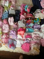 3-6 month 100+pc girls clothing Lot