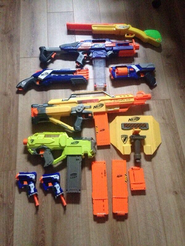 Various Nerf Guns 163 20 In Anfield Merseyside Gumtree
