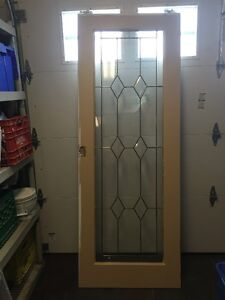 LEAD GLASS INTERIOR DOORS