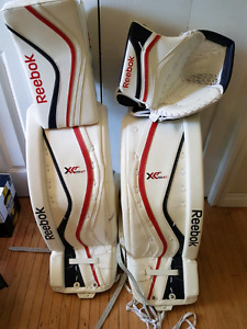 Full set Reebok XLT Goalie Gear and chest protector, pants