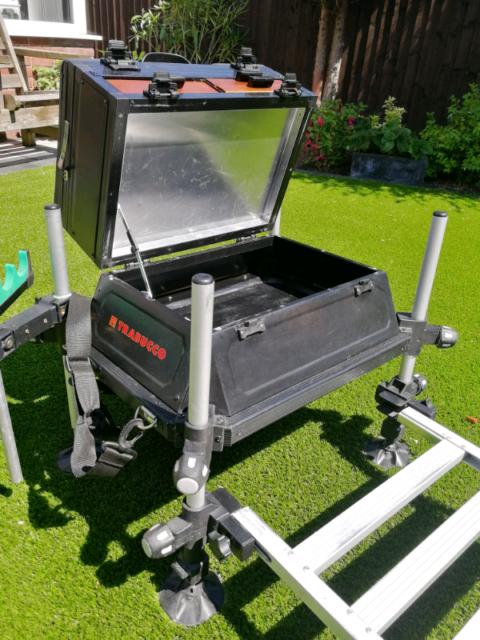 Fishing seat box | in Newport | Gumtree