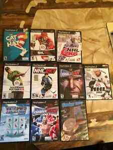 9 PS2 games for sale