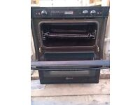 Neff double built in electric oven