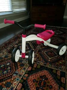 Toddler balance bike Chillafish QUADIE: 4-Wheeler