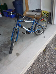 18 speed super cycle bike in blue colour Cambridge Kitchener Area image 2
