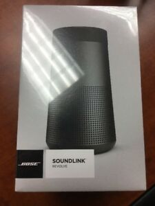 Bose Soundlink Revolve Bluetooth Speaker Black Brand New Sealed