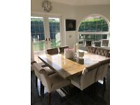 Barker & Stonehouse Galicia Dining Table & Next Chairs