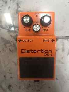 BOSS DISTORTION DS-1 pedal (Good Condition)