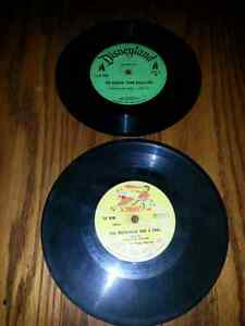 2 VINTAGE 45 rpm CHILDRENS RECORDS $5.00 FOR BOTH