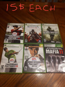 ĹOTS OF XBOX and XBOX360 GAMES in luskville