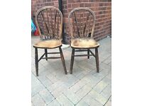 Priory dining room chairs (2)
