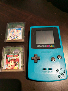 Gameboy Color System with Two games!