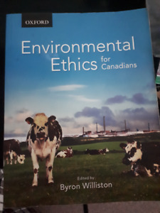 Environmental Ethics for Canadians. Byron Williston