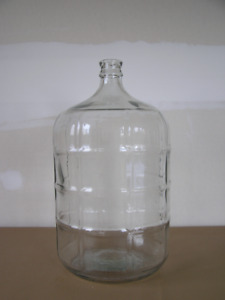 Glass Carboys 23 Liters and 19 Liters