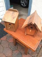 Bird houses and wood works