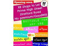 Shop to let*High Street*Stratford Road