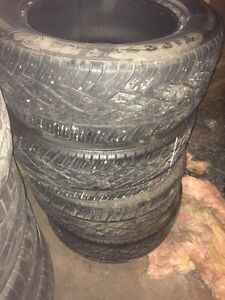 Set of Firestone Destination 255/55R18 tires REDUCED