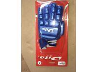 DITO hockey goalkeeper left hand glove - blue (small) new