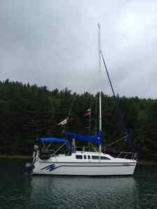 "For Sale. ""Hunter 26 Sailboat,  Nicely Set up for Cruising"""
