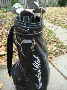 Canadian Club Golf Bag and 12 Clubs