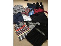 Maternity clothes bundle size 10 (asos mamalicious new look)