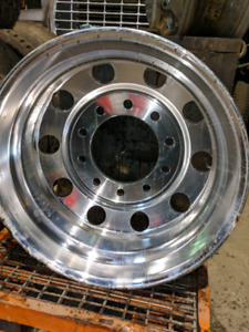 Aluminum wheel 22.5 x 8.25 new