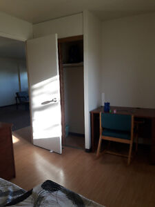 A nice furnished bed room available in 2 bedroom apartment