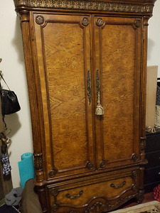 **NEW PRICE** Lovely Pulaski Armoire/Wardrobe