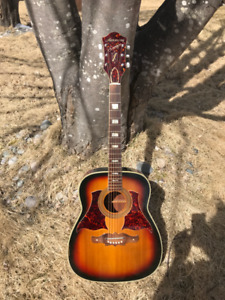 Harmony Sovereign 1266 Acoustic Guitar! Trade for cutaway. 1265