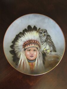 """Collector Plate - """"Birds of a Feather"""" by Perillo"""