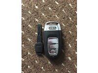 Genuine Audi A6 key and service key