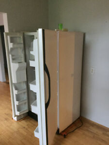 Double door fridge 225.00