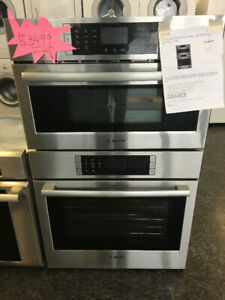 MICRO & STOVE WALL IN BOSCH ON SALE FOR JUST $2999!!