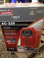 New Lincoln 225AC stick welder for sale