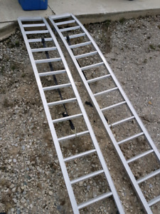 Reese curved ATV loading ramps like new