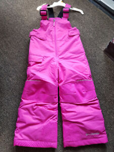 Size 4T .Winter snowsuit for girls .