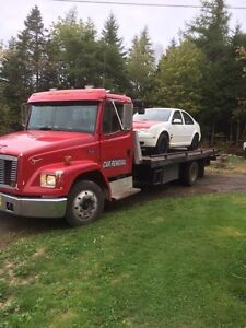 1999 fl 60 deck tow truck