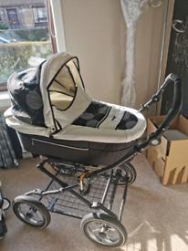Babystart Prestige Full Travel System - Pram, Car Seat, Buggy