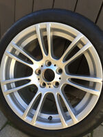 BMW Rim Style 270M (OEM) and Michelin Pilot Alpin Winter Package